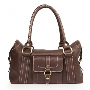 Celine Brown Leather Classic Tote