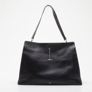 Celine Black Leather New Shoulder Bag 2012 Collection