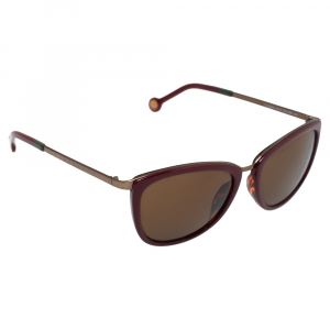 CH Carolina Herrera Burgundy/ Brown Gradient SHE046