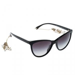 نظارة شمسية شانيل 5341-H-A عين قطة متدرجة رصاصية بنفسجية سوداء