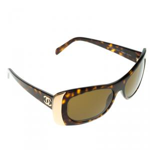 Chanel Brown A28891  Rectangle  Sunglasses