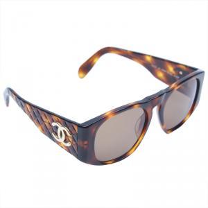 Chanel Tortoise Shell Square Sunglasses