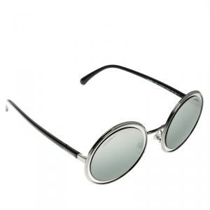 Chanel Silver/Silver Gradient 4226 Round Sunglasses