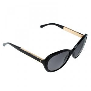Chanel Black 5269 CC Logo Classic Timeless Oversize Cat Eye Sunglasses