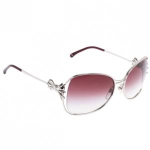 Chanel Silver 4180 Square Sunglasses