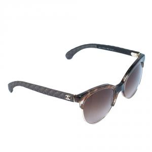 نظارة شمسية شانيل 5342 عين قطة متدرجة بني/بني
