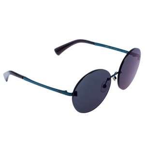 Chanel Dark Blue Reflective 4216 Round Sunglasses