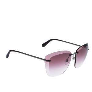 Chanel Purple Gradient 4221 Rimless Sunglasses