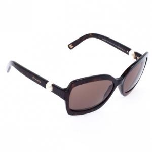 Chanel Black Square 5141H Pearl Women Sunglasses