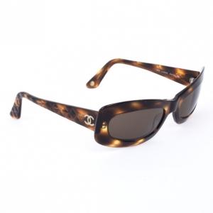 Chanel Tortoise Frame 5006 Women Sunglasses