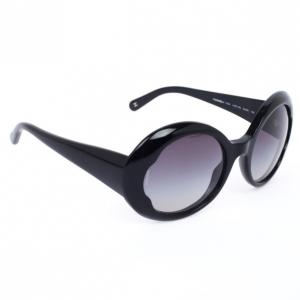 Chanel Black Round CC Women Sunglasses