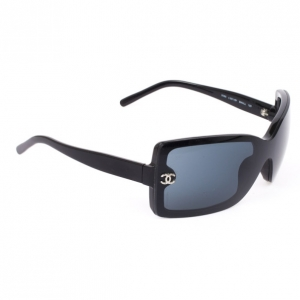 Chanel Black 5065 Rectangle Womens Sunglasses