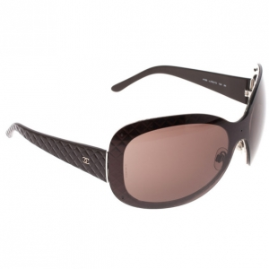 Chanel Black Oval 4159 Womens Sunglasses