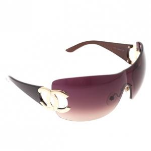 Chanel CC Logo Shield Womens Sunglasses