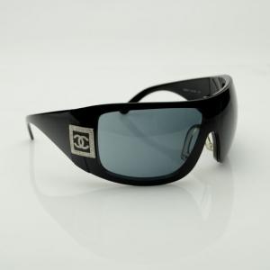 Chanel Black Mask Sunglasses