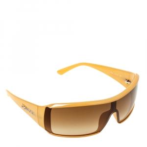 Chanel Beige/Brown Gradient 5103 Shield Sunglasses
