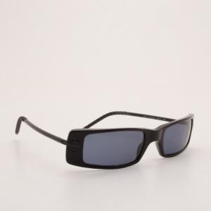 Chanel Black Rectangle Frame Sunglasses