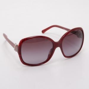 Chanel Red Oversized CC Logo Sunglasses 5174