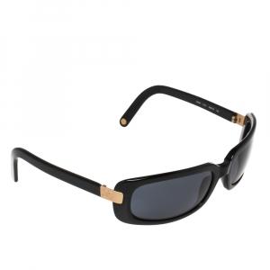 Chanel Gold/Black 5026 Rectangle Sunglasses