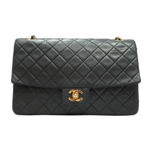 Chanel Black Leather Vintage Flap bag