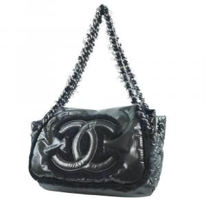 Chanel Black Nylon Shoulder Bag