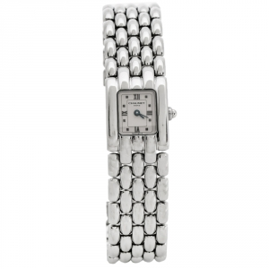 Chaumet Beige Stainless Steel Khesis Women's Wristwatch 17.50 mm