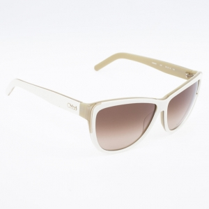 Chloe White Woman Sunglasses CE602S-275
