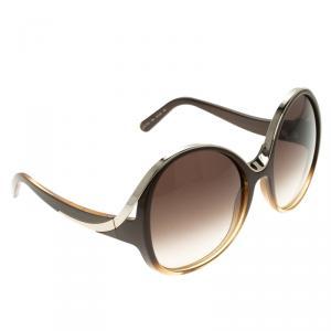 Chloe Brown CE713S Round Sunglasses