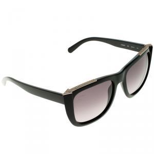 Chloe Black CE659SR Dallia Embellished Oversize Sunglasses