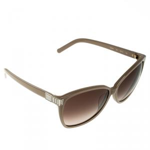 Chloe Beige/Brown Gradient CE604S Square Sunglasses