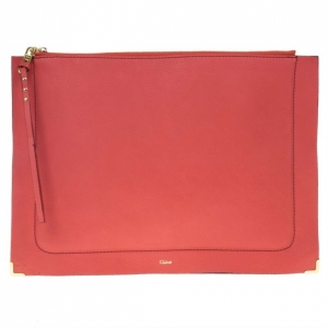 Chloe Two Tone Leather Ghost iPad Case
