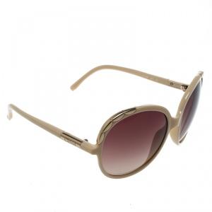 Chloe Cream/ Brown Gradient CL2222 Erine Oversized Round Sunglasses