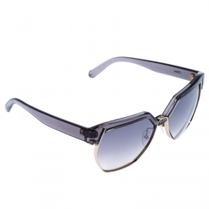 Chloe Clear Dark Grey Gradient CE665S Browline Sunglasses