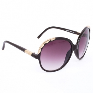Chloé Scalloped Trim Oversized Square Women Sunglasses