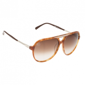 Chloe Brown Oversized Aviators