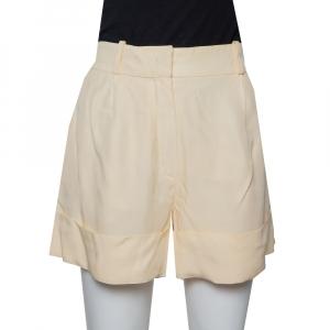 Chloé Cream Crepe Shorts M used