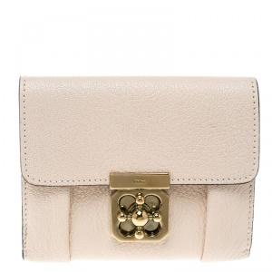 Chloe Blush Pink Leather Wallet