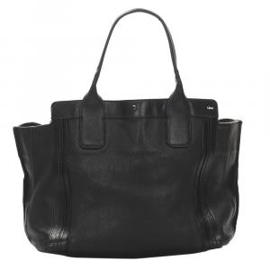 Chloe Black Leather Allison Bag