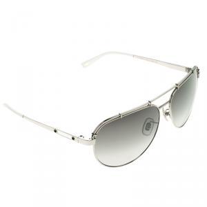 Chopard Grey Titanium SCHA12 Aviator Sunglasses