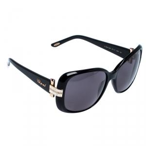 Chopard Black SCH 133S Butterfly Sunglasses