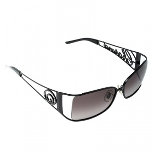 Chopard Black/Purple Black Gradient SCH582S Rectangle Sunglasses