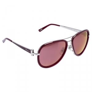 Chopard Magenta Mirror SCHB27S Aviator Sunglasses