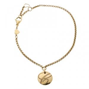 Chopard Chopardissimo 18k Yellow Gold Charm Bracelet 21cm