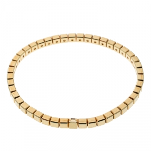 Chopard Ice Cube 18k Yellow Gold Bracelet 18cm