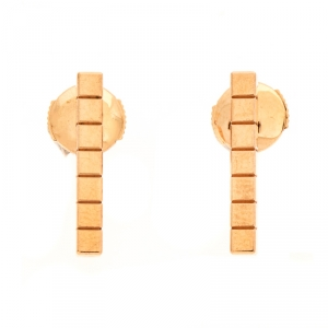 Chopard Ice Cube 18K Rose Gold Stud Earring