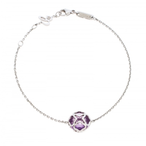 Chopard Imperiale Cocktail Amethyst 18K White Gold Bracelet