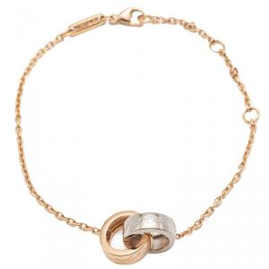 Chopard White & Rose Gold Chopardissimo Bracelet