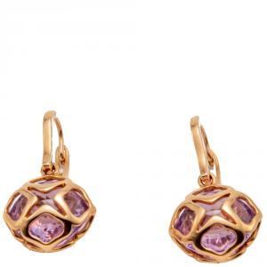 Chopard Rose Gold Imperiale Cocktail Amethyst Earrings