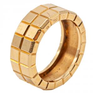 Chopard Ice Cube Rose Gold Ring Size 52