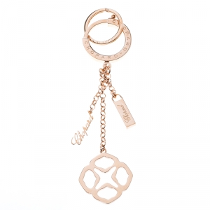 Chopard Imperiale Icon Rose Gold Finish Key Ring / Bag Charm